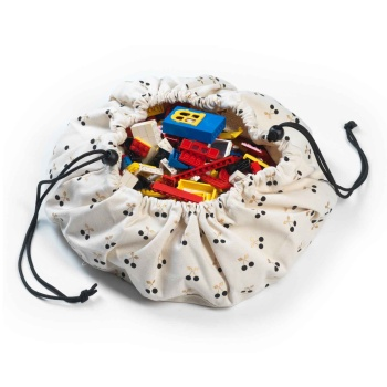 Mini Toy Storage Bag - Cherry
