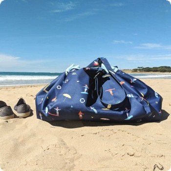 Toy Storage Bag Outdoor Surf
