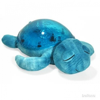 Tranquil Turtle LED night light - aqua