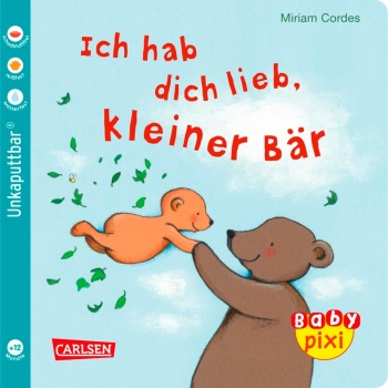 Baby Pixi 57: I love you, little bear (Softcover)