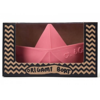 Origami Boat - Pink