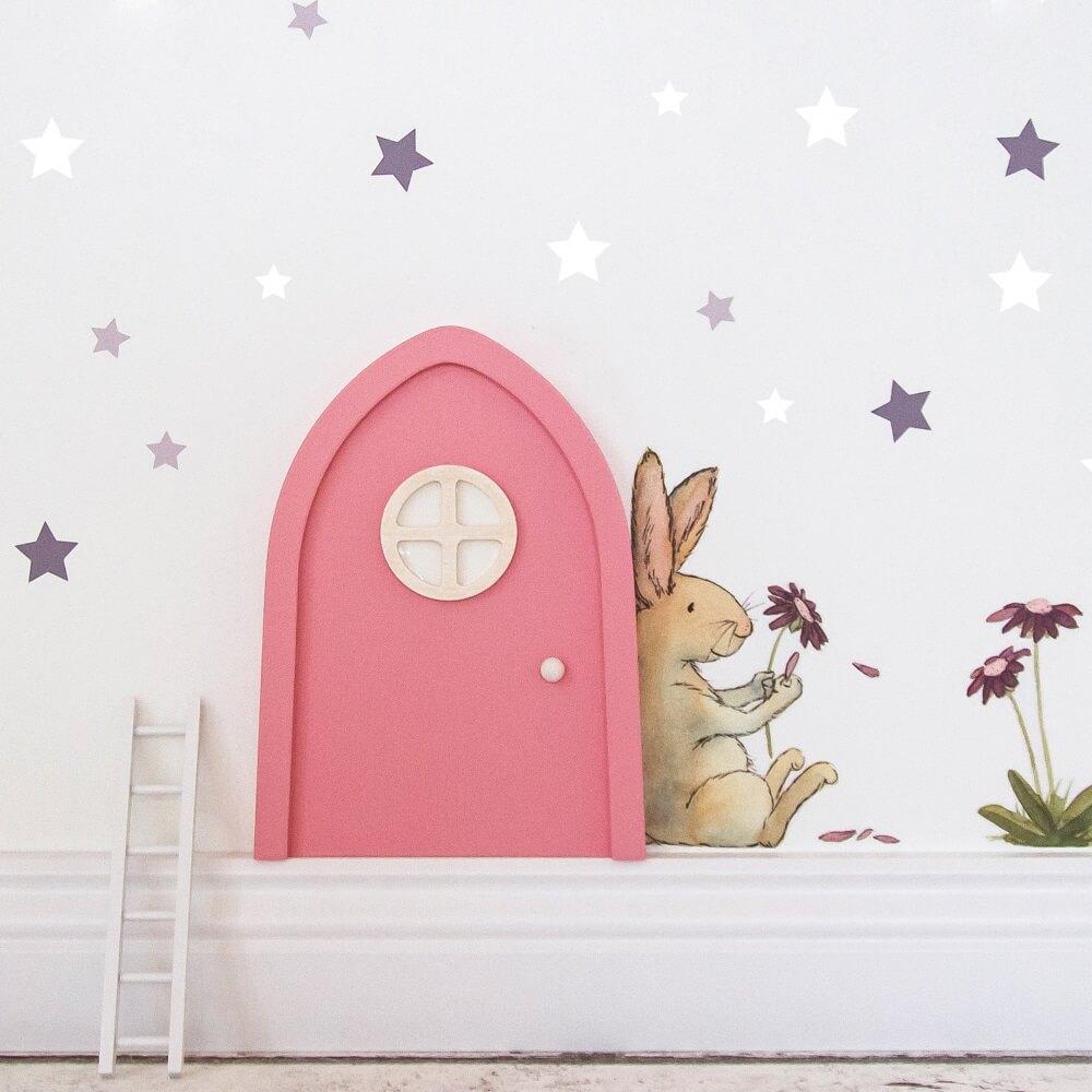 Lonneken Wandsticker Hase Und Blume