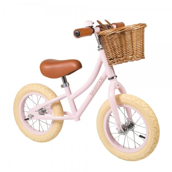 Balance Bike FIRST GO Pink