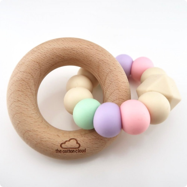 Pastel Baby Teether