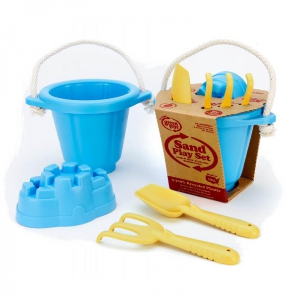 Sand play set, blue