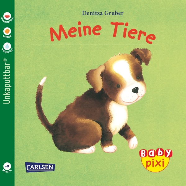 Baby Pixi 12: Meine Tiere (Softcover)