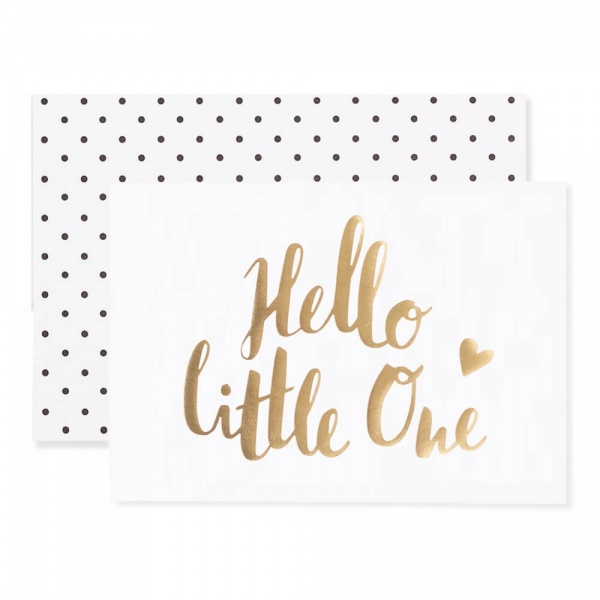 Hello Little One - Gold