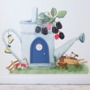 Wall Sticker Watering Can