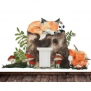 Wall Sticker Forest Gnome